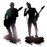 Miembros de banda de rock Fotografía de archivo