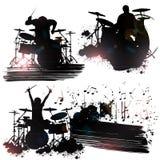 Miembros de banda de rock Fotos de archivo libres de regalías