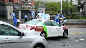 Miembros de las escuelas públicas de PBS que se encuentran en Boston, los E.E.U.U., metrajes