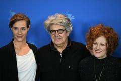 Miembros del jurado de la 68.a edición del festival de cine 2018 de Berlinale Imagenes de archivo