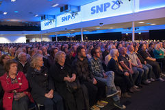 Miembros del partido de SNP Imagen de archivo libre de regalías