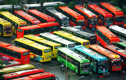 Mien bus station Stock Photography