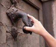mienia knocker Fotografia Stock