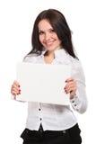 mienia notatnika białej kobiety potomstwa Obraz Stock