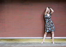 mienie atrakcyjna włosiana kobieta Fotografia Royalty Free