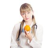 mienie doktorska pomarańcze Zdjęcia Stock