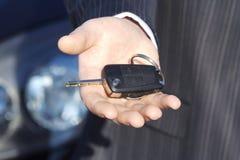 mienie samochodowy klucz Zdjęcie Royalty Free