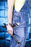 mienie wytłaczać wzory kobiety Fotografia Stock
