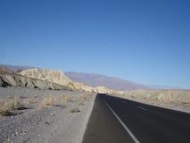 śmierci dolina pusta drogowa Fotografia Stock
