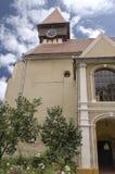 Miercurea Sibiului stärkt kyrka Arkivbilder