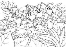 Mieren - kunstenaars Stock Foto