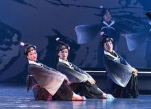 """Mieren mensen-verslag van Zuidelijke boeg-Jiangxi opera""""four dromen van linchuan† Royalty-vrije Stock Afbeeldingen"""