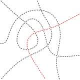 Mierensleep vector illustratie