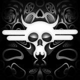 Śmiertelna czaszka Fotografia Royalty Free