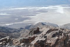 Śmiertelna dolina, Kalifornia. Fotografia Royalty Free