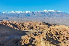 Śmiertelna dolina w Atacama pustyni, Chile Zdjęcia Stock
