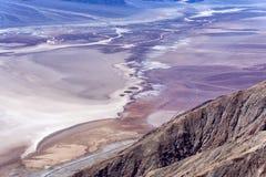 śmiertelnej doliny widok Zdjęcie Stock
