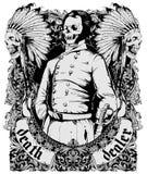 Śmiertelny delaer royalty ilustracja