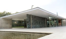 Mies van der Rohe Barcelona Pavillion Stock Photo