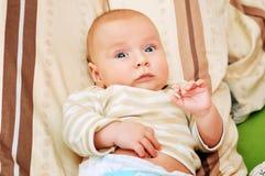 4-5 miesiąca dziecko fotografia royalty free