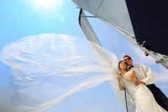 Miesiąca miodowego żeglowanie Fotografia Royalty Free
