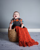 8 miesięcy Stara chłopiec Obrazy Royalty Free