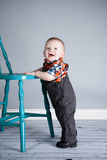 8 miesięcy Stara chłopiec Obraz Royalty Free