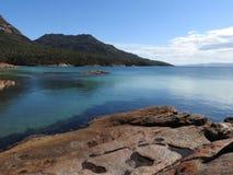 Miesiąc miodowy zatoka, Tasmania Fotografia Royalty Free