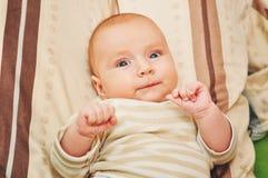4-5 miesiąca dziecko Obraz Stock