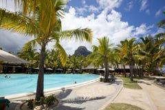 Miesiąca miodowego o tropikalna wyspa Mauritius Obraz Stock