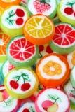mieszająca kolorowa owocowa galareta Zdjęcie Stock