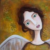 mieszający aniołów środki Obraz Royalty Free