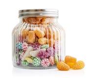 mieszająca kolorowa bonbon owoc Obrazy Royalty Free