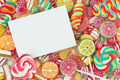 mieszająca kolorowa bonbon owoc Zdjęcia Stock