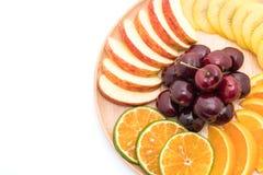 mieszana pokrojona owoc Obraz Stock