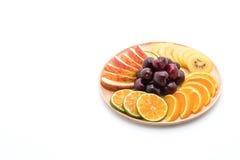 mieszana pokrojona owoc Zdjęcia Royalty Free