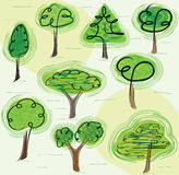 mieszanek drzewa Obrazy Stock