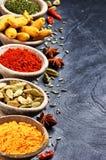 mieszanek kolorowe pikantność zdjęcie stock