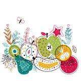 Mieszanek owoc ilustracyjne Obrazy Stock