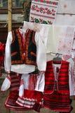 Mieszanek tradycyjne Mołdawskie pamiątki zdjęcie royalty free