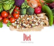 Mieszani legumes i warzywa Zdjęcia Royalty Free