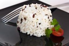 Mieszani ryż z pomidorem i pietruszką Zdjęcie Stock