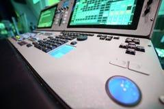 mieszanie konsoli dj wyposażenia melanżeru muzyki s dźwięka styl Obrazy Stock