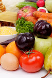 mieszanie owoców Fotografia Stock