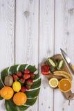 Mieszanka świeże owoc zdjęcia stock