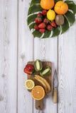 Mieszanka świeże owoc zdjęcie royalty free