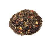 Mieszanka czerń i zielona herbata Obrazy Royalty Free