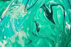 Mieszanka koloru zieleń Zdjęcia Royalty Free
