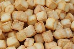 Mieszanka rybia mięsna piłka z tofu Zdjęcie Stock