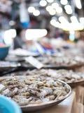 Mieszanki fuzi jedzenie na rynku Fotografia Stock
